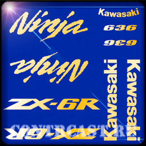 наклейки_на_мотоцикл_Kawasaki_ZX-6R