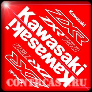 sticker_set_for_motorcycle_Kawasaki ZXR750