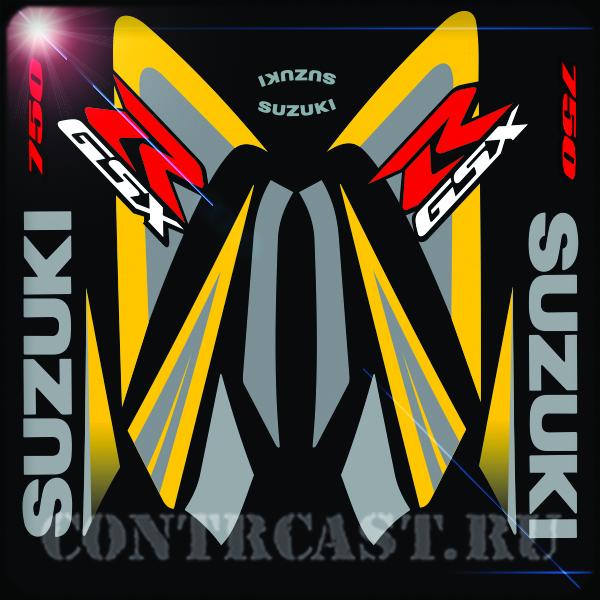 stickers SUZUKI GSX-R 750 2006