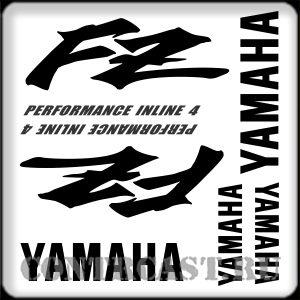 sticker set for motorcycle YAMAHA FZ