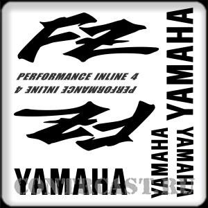 sticker set for motorcycle YAMAHA FZ