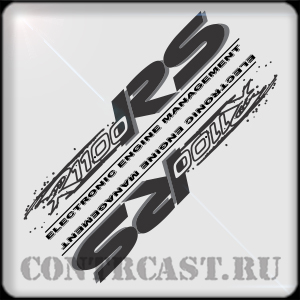 stickers set for motorcycle BMW R1100RS