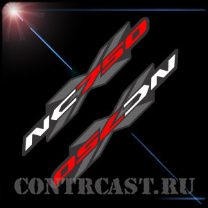 set of stickers for motorcycle Honda NC750X 2013-2015