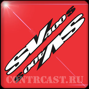 stickers for motorcycle Suzuki SV400s