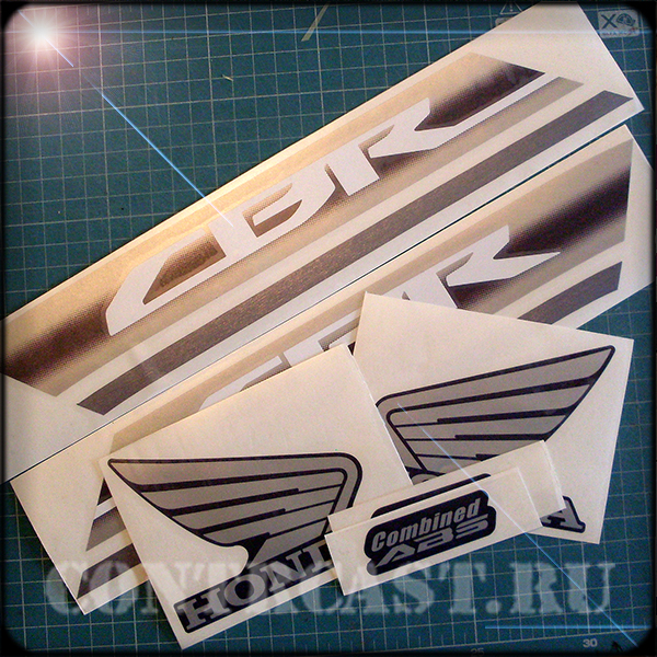 stickers for motorcycle honda cbr600f 2011