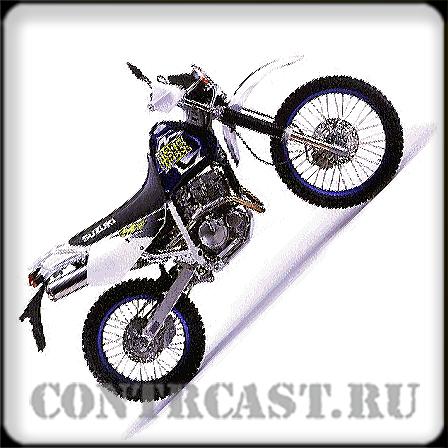 sticker set on SUZUKI Djebel 250 XC 1996