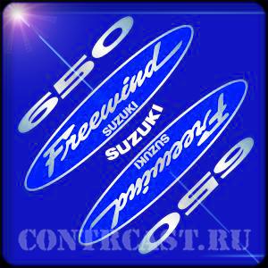 "stickers for motorcycle SUZUKI XF650 AC ""FREEWIND"" 1999"
