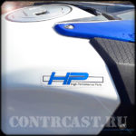sticker on BMW S1000RR