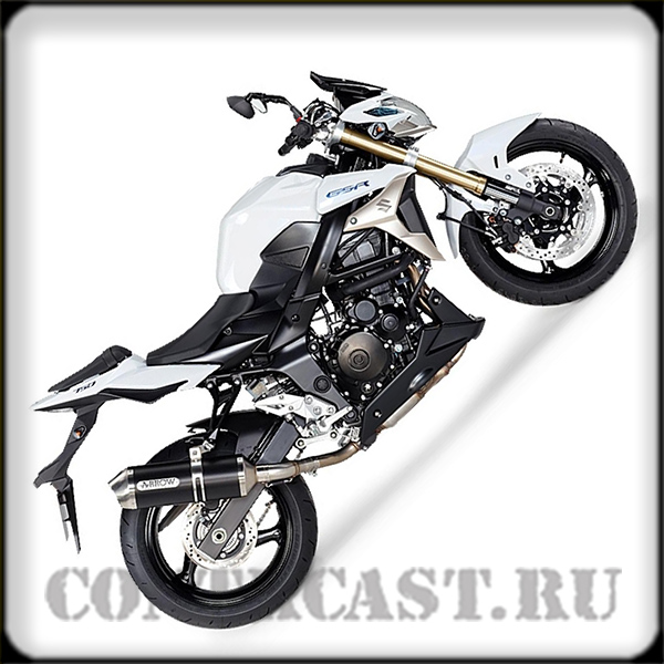 sticker on motorcycle SUZUKI GSR750 2012
