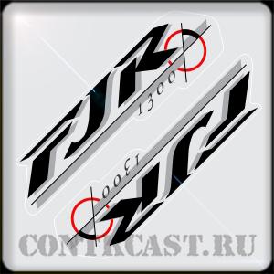 sticker on YAMAHA FJR 1300