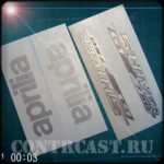 set of stickers on motorcycle Aprilia SHIVER GT750