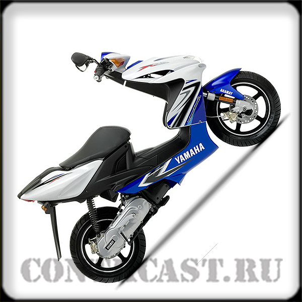 stickers on scooter YAMAHA AEROX R 2009