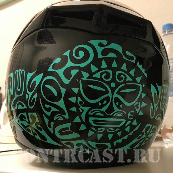 AGV helmet aerography
