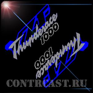 YAMAHA 1000R Thunderace 2001 set of stickers