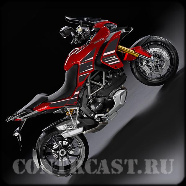 stickers set on Ducati Multistrada-1200S-Sport