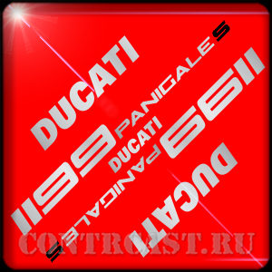 set of stickers for motorcycle DUCATI 1199 Panigale S