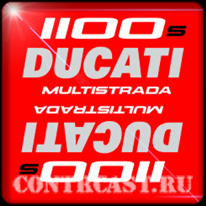 stickers DUCATI multistrada 1100S