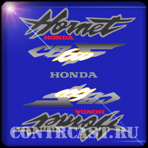 HONDA CB600F stickers set