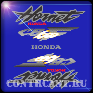 HONDA CB600F stickers set