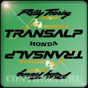 HONDA TRANSALP 600V stickers