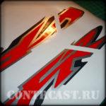 Honda VFR 800 stickers set
