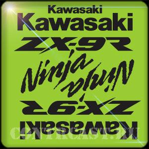 Kawasaki ZX-9R 2000 sticker