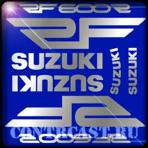 SUZUKI RF600R decals