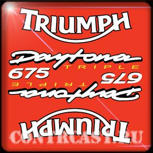 Triumph Daytona 675 triple stickers