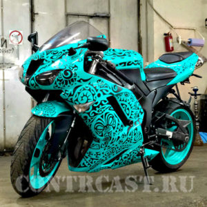 kawasaki zx-6r 2008 stickers on the best
