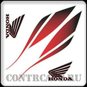 stickers on the tank honda hornet 2010