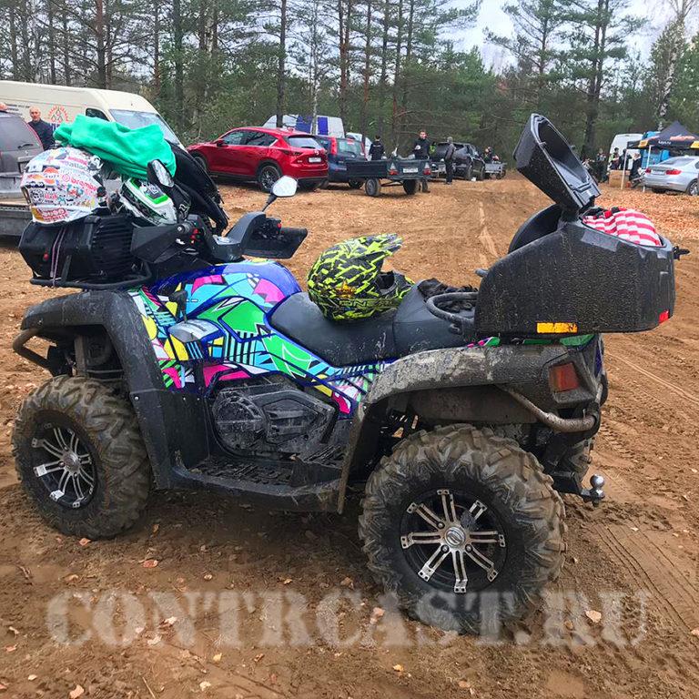 ATV_CFMOTO X8 set of stickers