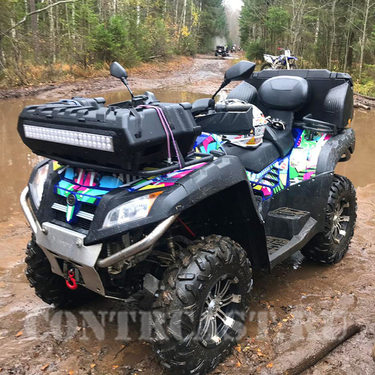 ATV_CFMOTO X800 stickers
