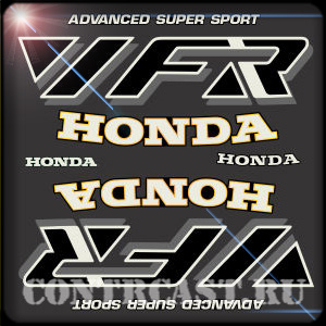 HONDA VFR 750F sticker set