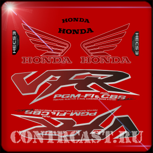 Honda VFR 800 evolution_stickers