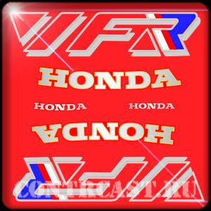 HONDA VFR 750F sticker set