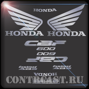 Honda CBF600S stickers