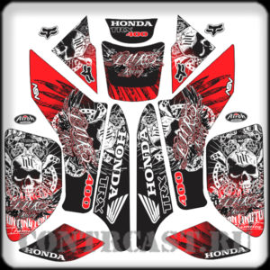 HONDA TRX400 2002 stickers