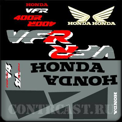 Honda VFR400R NC30 stickers