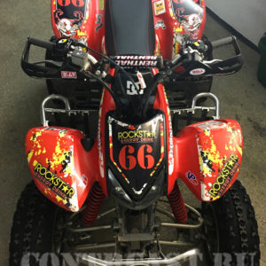 Honda TRX 400 stickers
