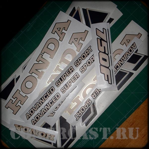 Honda VFR 750F stickers