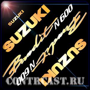 SUZUKI GSF600N Bandit 1995-1999 stickers