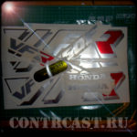 HONDA VFR 750F 1993 set of stickers