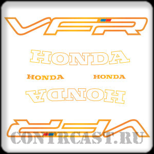 honda vfr750f 1991 stickers