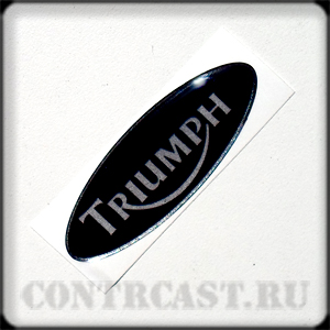 motorcycle_triumph_sticker_on_dashboard