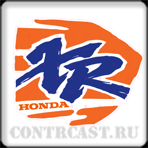 Honda xr200 1994 stickers